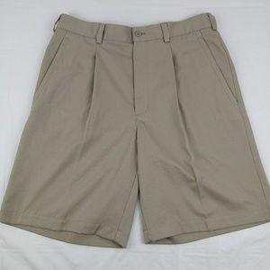 Nike Golf Dri Fit Khaki Shorts Men's Size 33W
